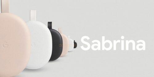 Google Chromecast Sabrina Android TV