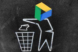 Google Drive lixeira