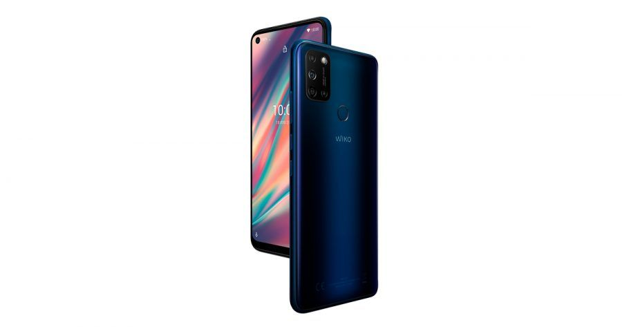 Wiko View 5 Midnight Blue compo 01