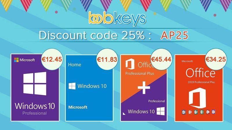 Bobkeys.com Microsoft desconto