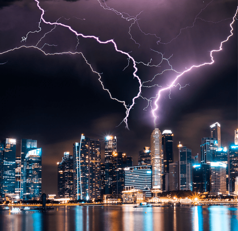 image dicas, Eaton, teletrabalho, tempestade
