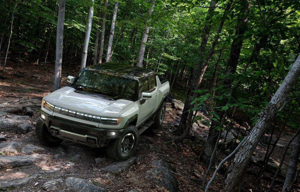 2022 GMC HUMMER EV 002 carrinha elétrica, esgotadas, General Motors, GM, Hummer, Hummer EV, pickup, reservas, tesla, tesla cybertruck