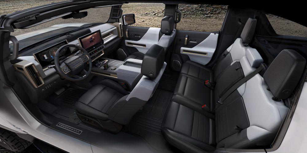 2022 GMC HUMMER EV 008 1 carrinha elétrica, esgotadas, General Motors, GM, Hummer, Hummer EV, pickup, reservas, tesla, tesla cybertruck