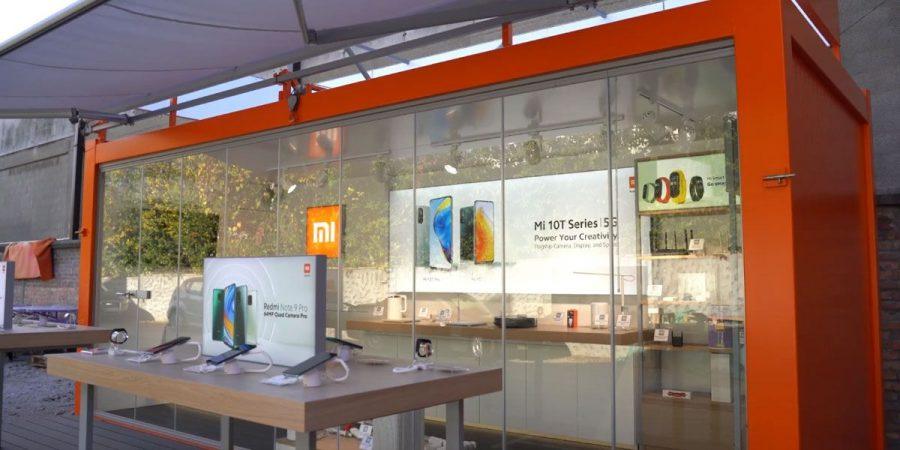 Xiaomi Pop-up loja móvel Europa