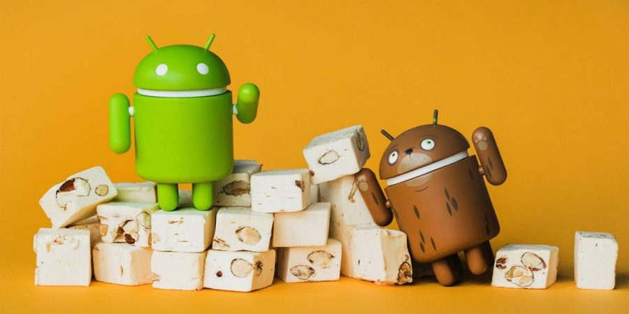 Smartphones Android Nougat