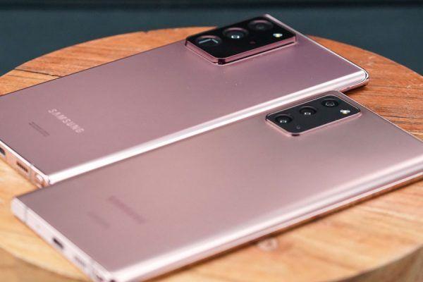 Samsung Galaxy S20 e Galaxy Note 20