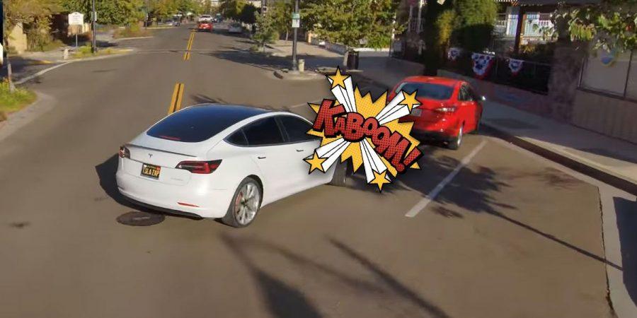 Tesla Model 3 piloto automático