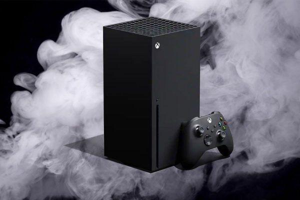 Xbox Series X Microsoft fumo