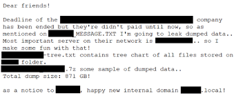 Email da Pay2Key Ransomware