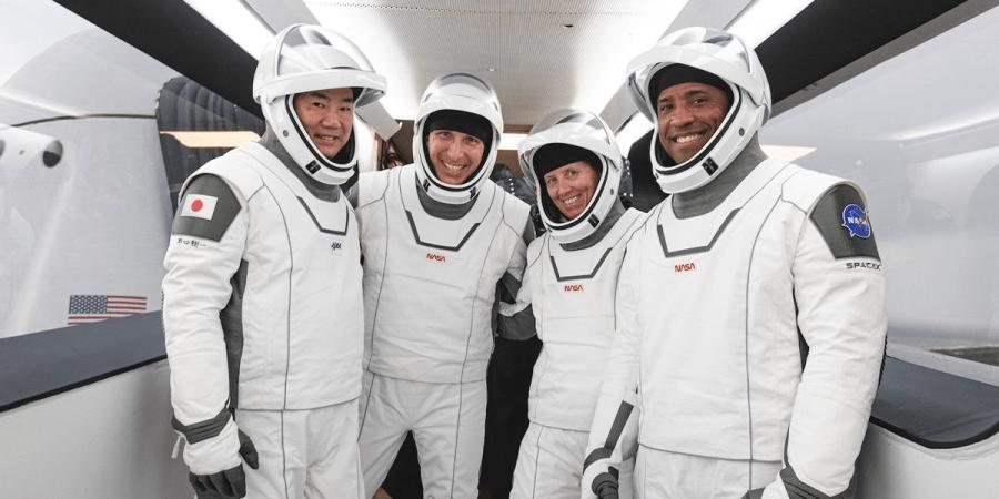 SpaceX Crew-1 NASA tripulação