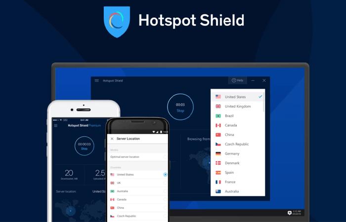 Hotspot Shield VPN Grátis