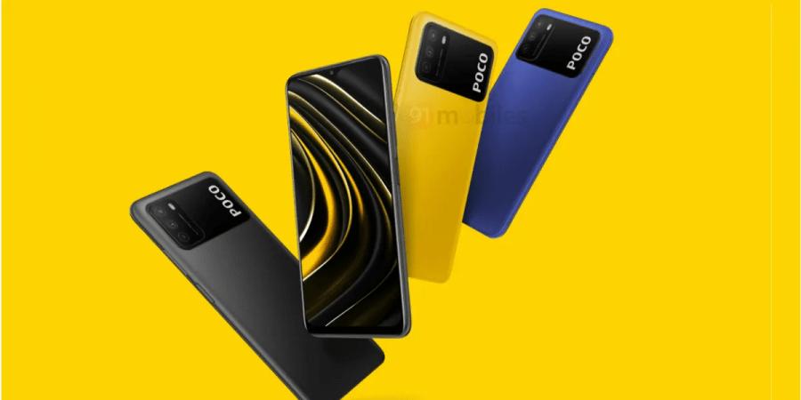 Xiaomi POCO M3 design