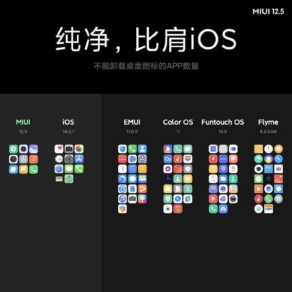Xiaomi MIUI 12.5 Interface