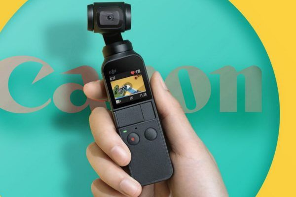 Canon DJI câmara gimbal