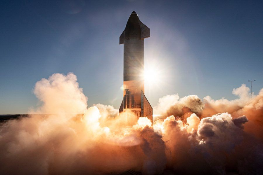 Elon Musk, Starship, SN9, SpaceX, 2021