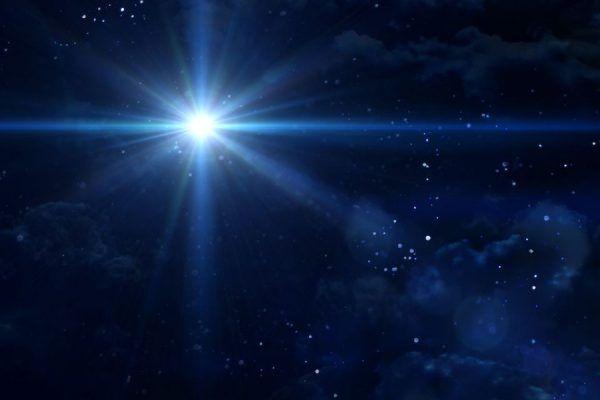 Estrela de Natal evento astrológico