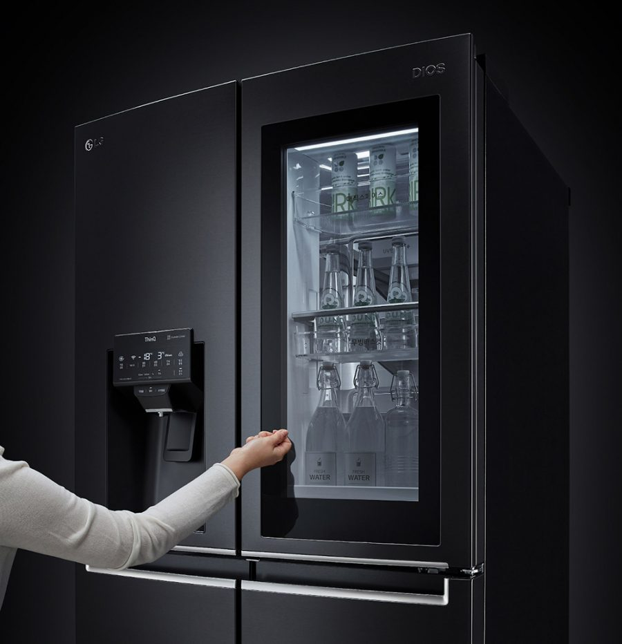 LG InstaView Door-to-Door frigorífico inteligente CES 2021