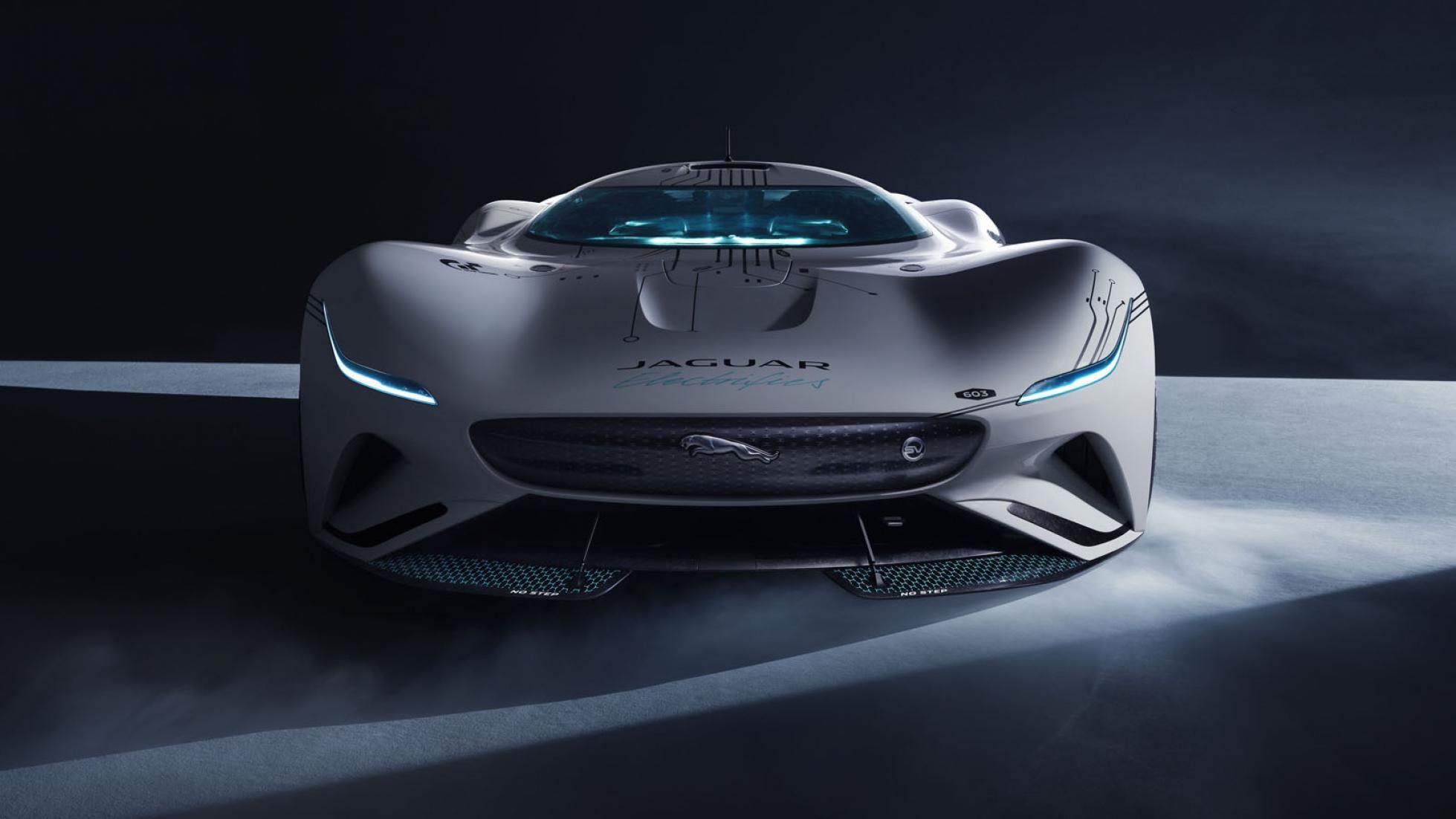 Jaguar Vision GT SV 5 carro elétrico, Gran Turismo, Gran Turismo Sport, GT, Jaguar, Jaguar Vision GT SV