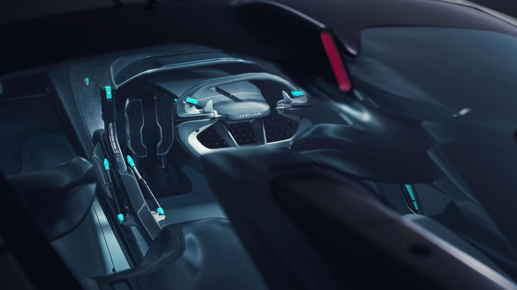 Jaguar Vision GT SV 8 carro elétrico, Gran Turismo, Gran Turismo Sport, GT, Jaguar, Jaguar Vision GT SV
