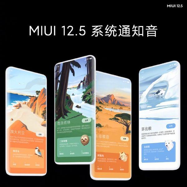 Xiaomi MIUI 12.5 Interface Xiaomi Mi 11