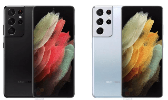Samsung Galaxy S21 Ultra design