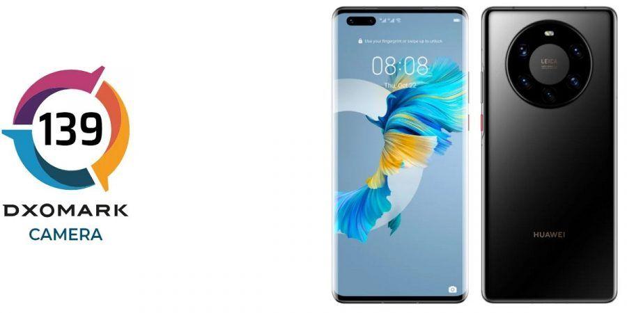 Huawei Mate 40 Pro+ DxOMark