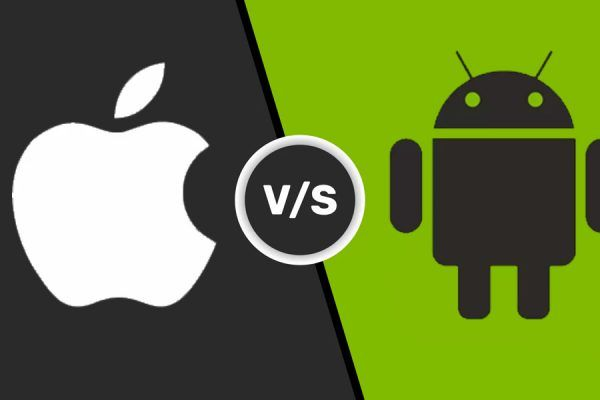 Android iOS smartphones