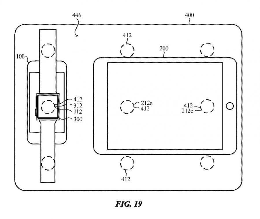 Apple Patente 2 apple, apple watch, carregamento sem fios, iPad, iphone, macbook, patente