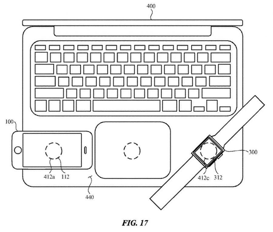 Apple Patente apple, apple watch, carregamento sem fios, iPad, iphone, macbook, patente