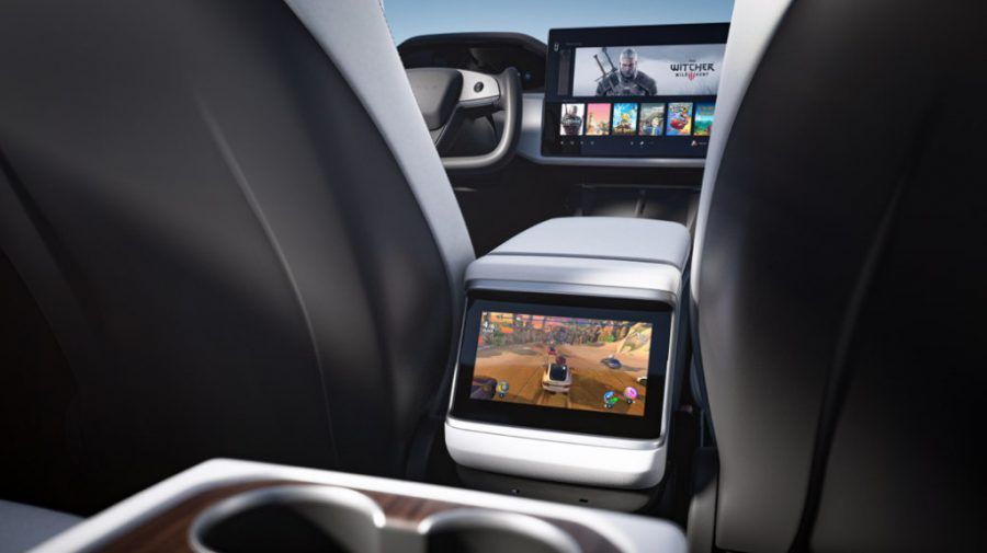 MS Interior Grid A Desktop 2021, design, Elon Musk, Plaid, tesla, Tesla Model S, Tesla Model X