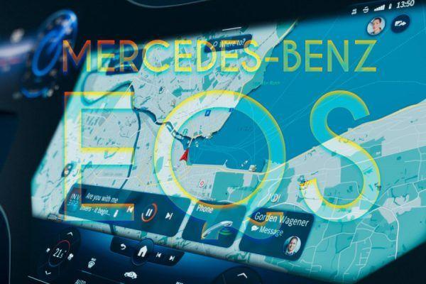 Mercedes Carros elétricos OLED