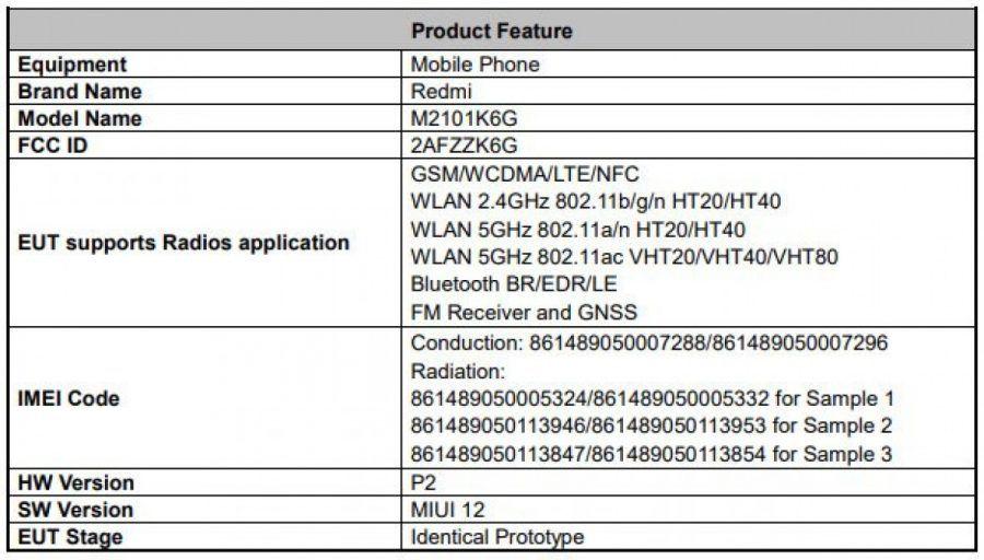 Redmi Note 10 Pro 4G Leak