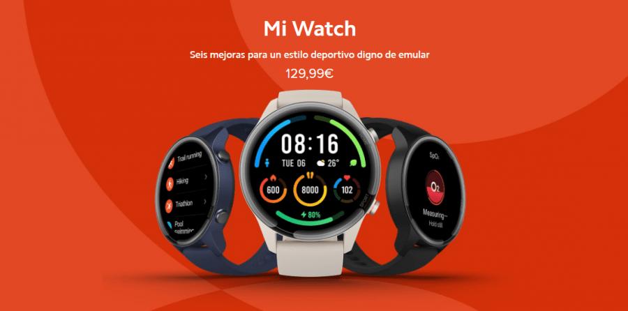 Xiaomi Mi Watch smartwatch Europa