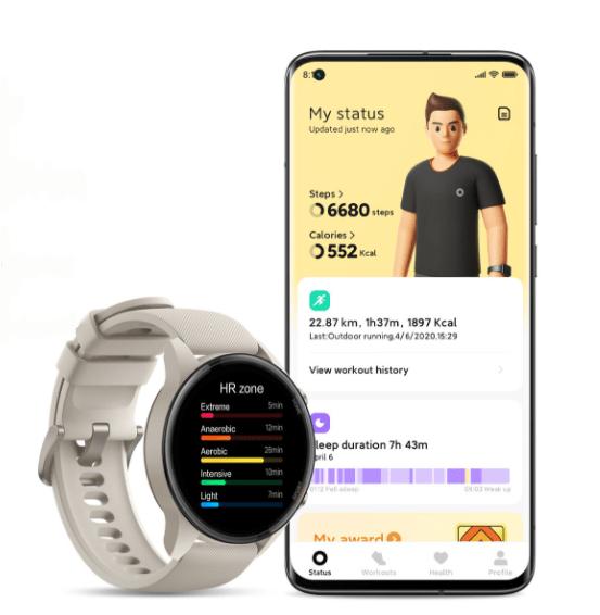 image 17 Europa, Mi Watch, Notícias, oficial, Portugal, preço, smartwatch, tecnologia, wearable, Xiaomi, Xiaomi Mi Watch