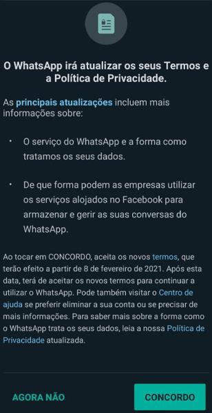 WhatsApp Facebook Europa Privacidade