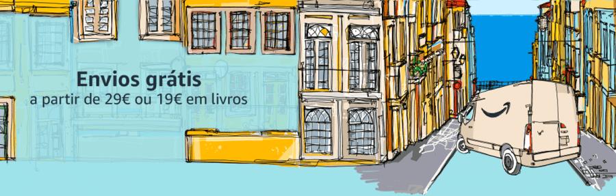 Amazon Portugal envio grátis