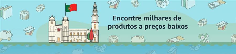 Amazon Espanha está totalmente em Português