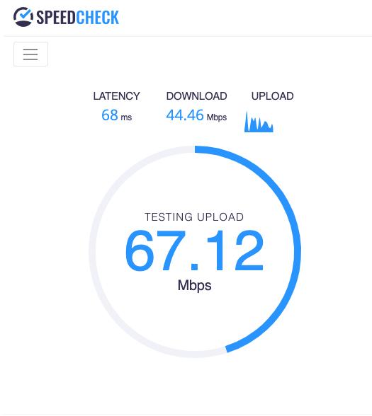 velocidade de internet VPN