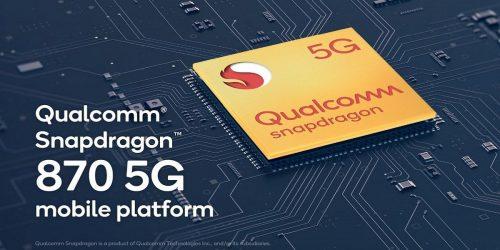 Snapdragon 870 5G Qualcomm Snapdragon 865