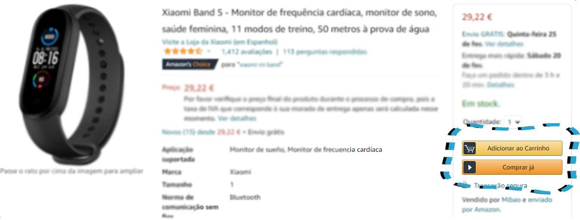 AmazonCompra2 Amazon em Portugal, amazon es, amazon espanha, amazon portugal, como comprar na amazon, comprar na Amazon, compras online, Portugal, tutorial