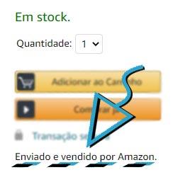 Amazon Espanha comprar em Portugal