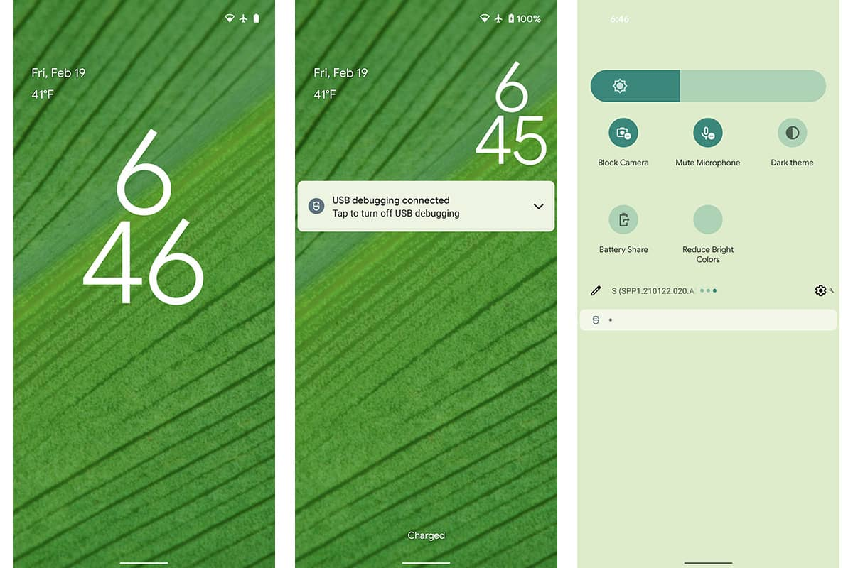 Android 12 Wallpaper tema monet