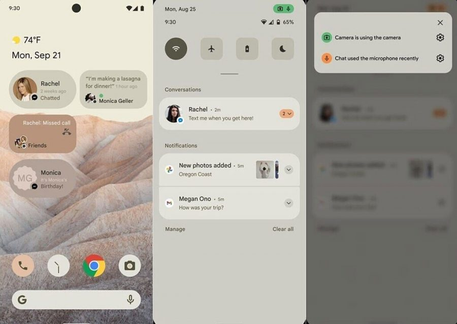 Android 12 Material NEXT interface