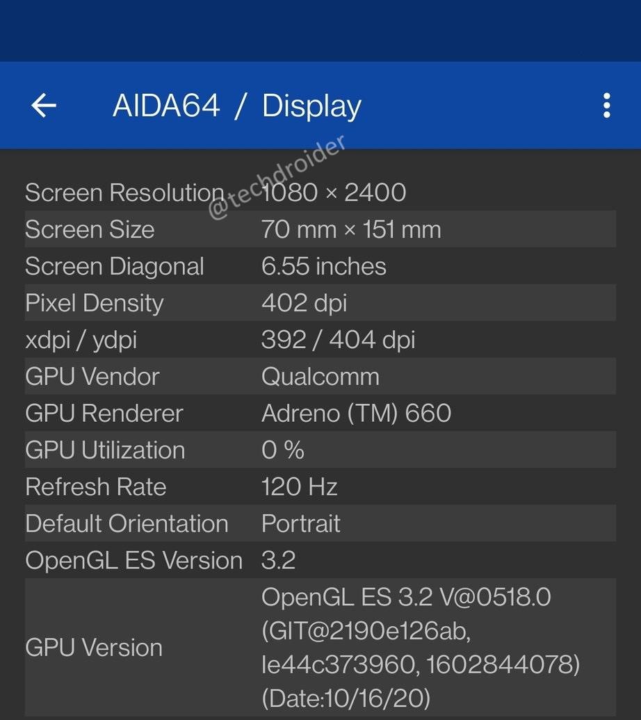EukT KkVEAM FOU AIDA64, mobile, oneplus, OnePlus 9