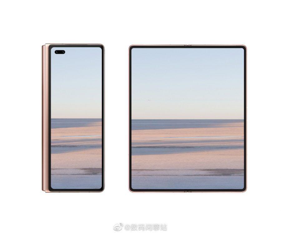 Huawei mate X2 Huawei, Huawei Mate X2, kirin 9000, Richard Yu