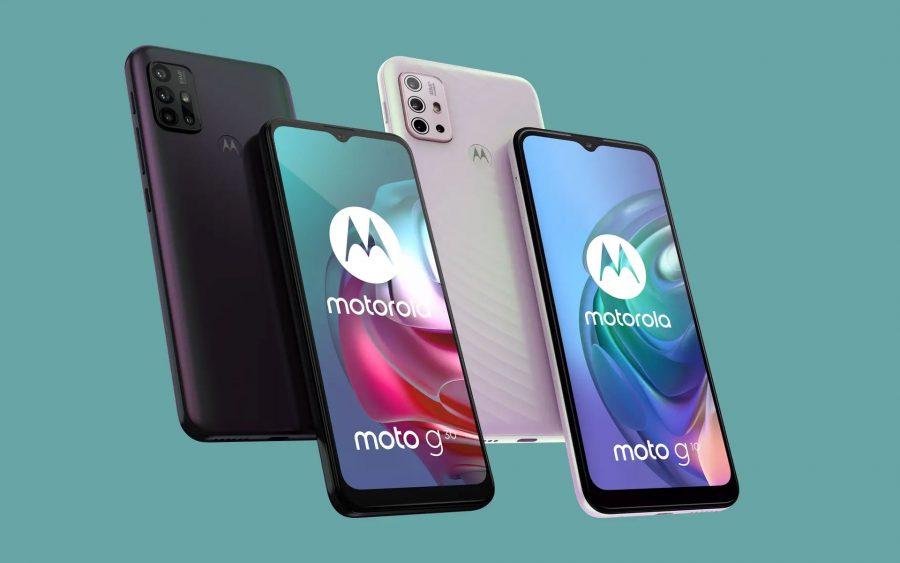 Motorola Moto G30 e Moto G10