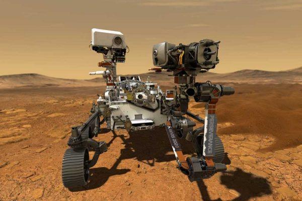 NASA Perseverance Marte