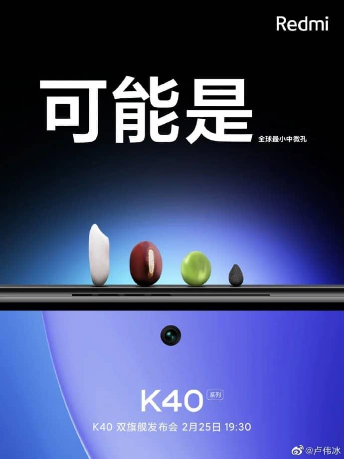 Xiaomi Redmi K40 Samsung E4 Ecrã