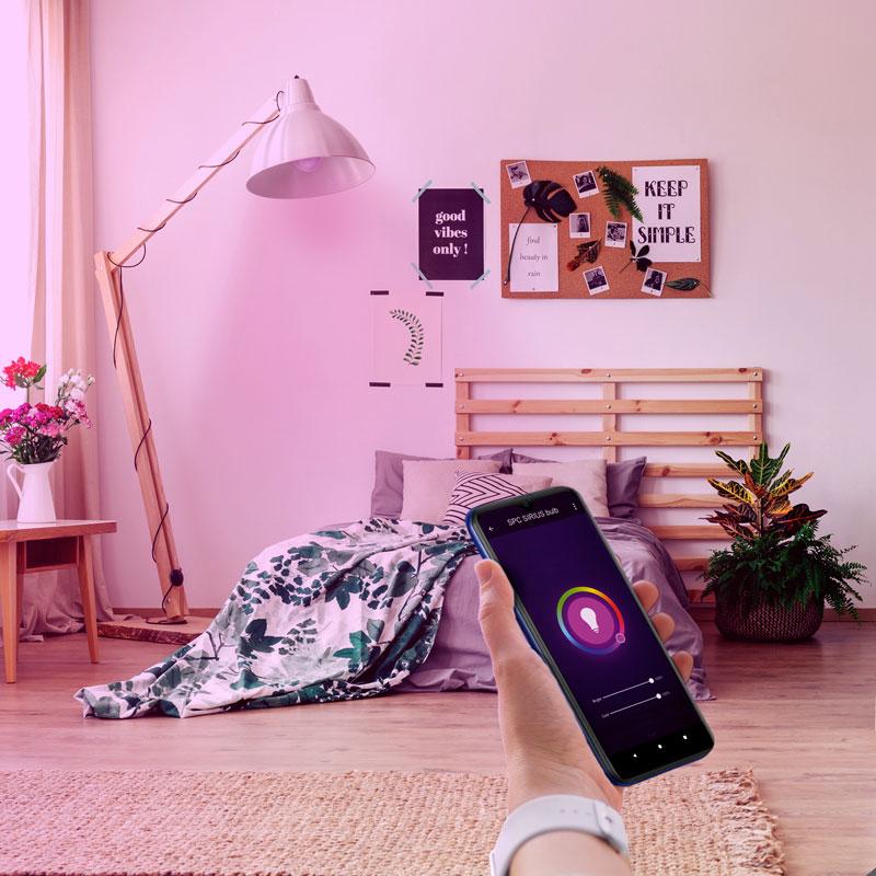 lâmpada inteligente Aura