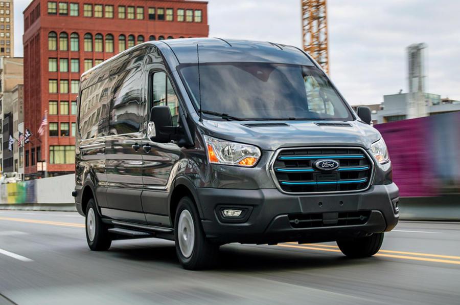 Ford Transit Carros elétricos 2030 Europa